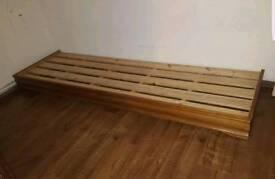 2x Morrocon arabian arab pallet bed sofa base stand