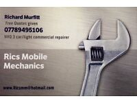 Mobile motor mechanic