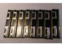 ECC DDR3 12GB 3x4GB - 30, 32GB 8x4GB - 60gbp, Registered 10600R 8500R server and workstation memory