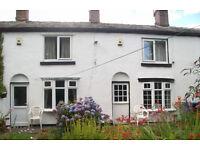 17thC.Cosy 2 bed Cottage.S/C.F/F.WiFi.Bath.Shower.Garden.NearJ17M60.Excellent position.£625p.m.SUPER