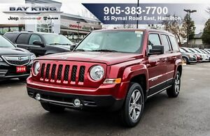 2017 Jeep Patriot HIGH ALTITUDE, 4X4, NAVI, SUNROOF, HTD LEATHER