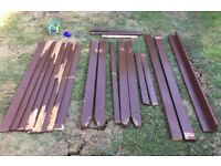 Parts to rebuild a GARDEN WOODEN A-FRAME 3 SEATER SWING SEAT