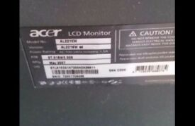 Acer lcd 22inch pc monitor