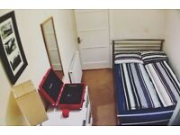 Quiet double room in 2 bedroom flat available