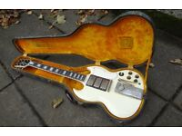 1961 GIBSON LES PAUL SG CUSTOM (would trade)