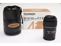 Tamron SP AF 90mm f/2.8 AF Di SP Lens (MACRO) CANON MOUNT