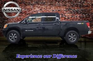 2015 Nissan Titan 4x4 Crew Cab S