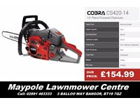"New Cheap COBRA Chainsaw 14"", 16"", 18"", 20"" - Very Good Saw, 2 Year Warranty"