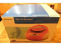 POLAROID BOOM BOX CD PLAYER & RADIO - BRAND NEW - MAINS OR BATTERY POWERED