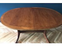 Vintage Parker Knoll Extending Teak Dining Table Seats 4 - 6 people Delivery within Edin city £20-30