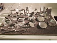 24% Lead Crystal Trophies and Paper Weights