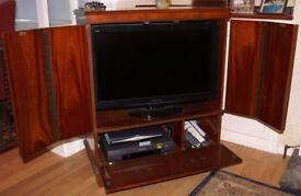 TV Cabinet - Mahogany Style