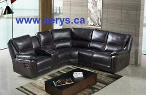 3pcs RECLINER sofa set for $899!! HUGE SALE!! WWW.AERYS.CA call 4167437700 for more details!! FAMILY DAY SPECIAL SALE!!