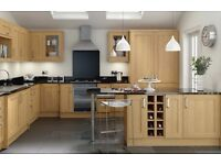 7 Piece Kitchen Units - Oak Shaker - BRAND NEW