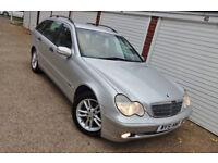 ** 2002 51 Mercedes C220 CDi Classic Auto Estate **