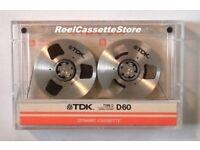 Reel Cassette Tapes For Sale