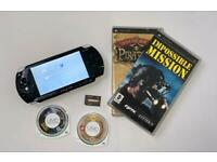 PSP console and games bundle
