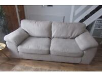 Harvey's 3 & 2 Seater Sofa - Light Brown
