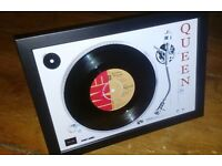 "Queen 7"" single bohemian rhapsody vinyl record"