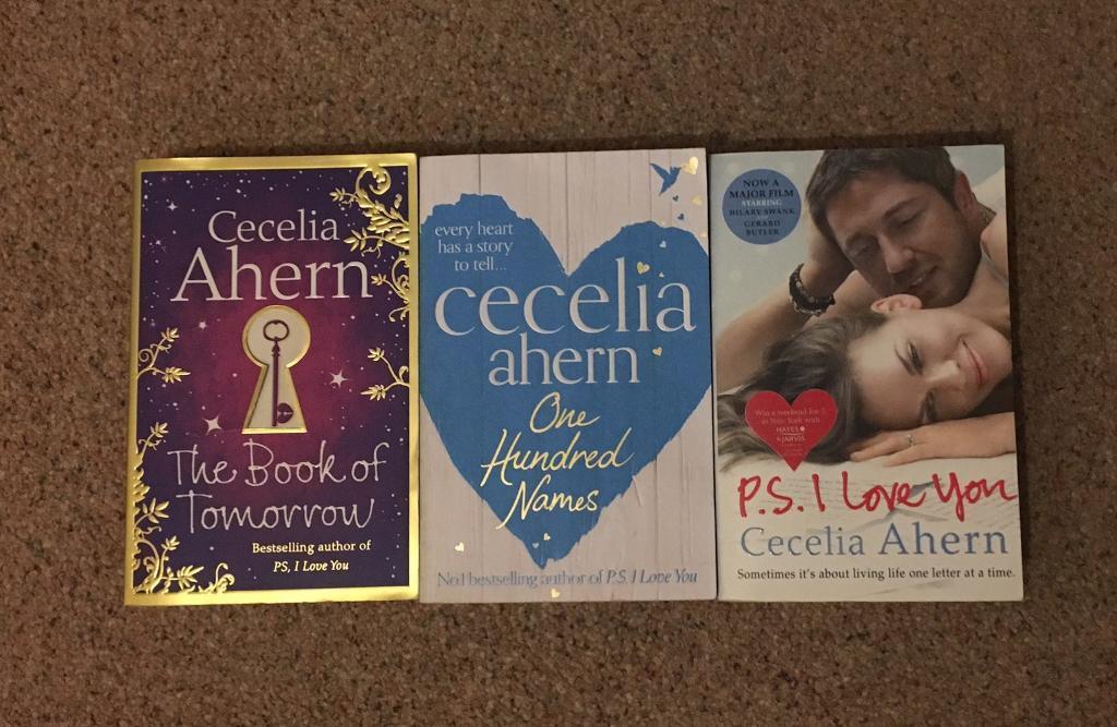 Cecelia Ahern book set x 3