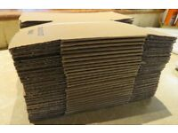 New 5inch x 5inch x5 inch cardboard postage boxes.