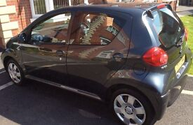Toyota Aygo. 5 Door. £20.00 annual Road Tax. 1 previous owner.Cheap Insurance. Mint condition.