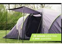 6 person Tent with Porch, Vis a Vis Tent brand new