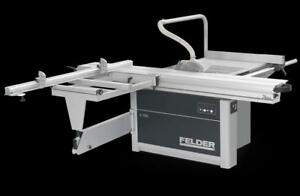 **1,495.00$$$ discount***  Sliding Table Panel Saw - Felder K 700 Professional