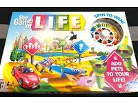 BRAND-NEW Hasbro Game of Life (modern version)