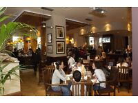 Commis Chef for busy Vauxhall Riverside pub required £9 per hour