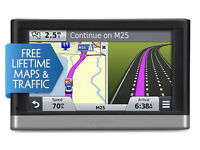 """GARMIN 2517LM 5"""" GPS Sat Nav with Free Lifetime Maps, Smartphone Link Traffic Updates and Bluetooth"""