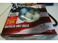 50 lake golf balls