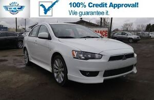 2010 Mitsubishi Lancer 2.4L GTS!! Leather & Bluetooth!! Wont Las