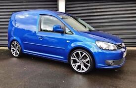 2013 VOLKSWAGEN CADDY 1.6 TDI 105 HIGHLINE VAN KITTED LOWERED BERLINGO TRANSIT