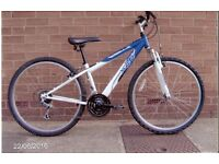 "Apollo XC 26 front suspension bike, 14"" frame, (large childrens/small adults), excellent condition."