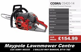 NEW Cobra Chainsaw - Great quality, cheap chainsaw for domestic use