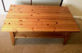 Solid Pine Coffee Table £25 ONO