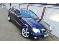 ** 2004 04 Mercedes C220 CDi Avantgarde Se Auto Estate **