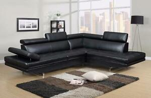 $999 - BLACK SECTIONAL