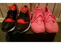 2× Nike Huarache