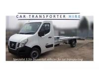 CAR TRANSPORTER HIRE/TRAILER HIRE/RECOVERY TRUCK SELF DRIVE ONLY £105 PER DAY 250 MILE INC/INSURANCE