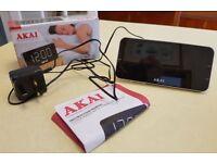 Akai Clock Radio Alarm - Big Numbered