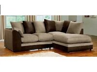 BRAND NEW DYLAN CORNER SOFA SUITE