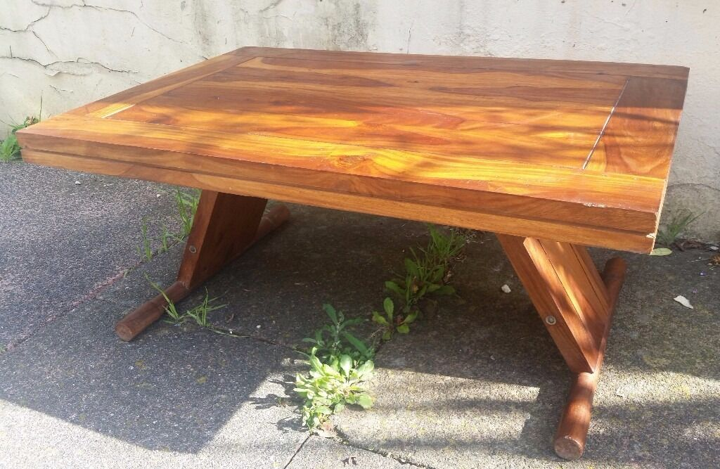 Lovely solid wood coffee table