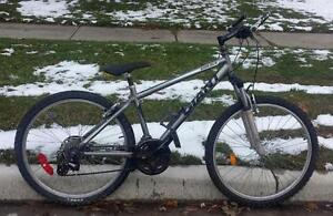 Mountain Bike For Sale, Giant Boulder, 16-Inch Frame, 21-Speed, 26-inch tires,