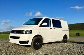 VW CAMPERVAN T5 Excellent condition; recently converted by professional company to high specs.
