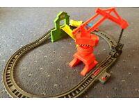 Thomas & Friends Cassia Crane & Cargo Set Train