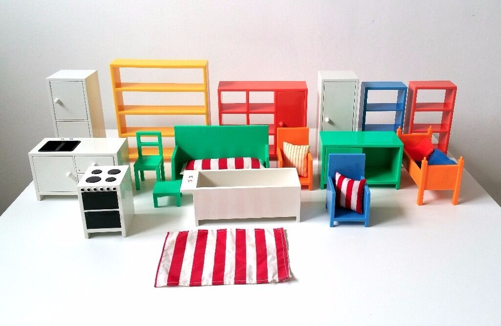 ikea dolls house furniture 3d printed ikea dolls house furniture bundle over 16 pieces in exeter devon