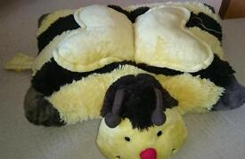 Genuine Pillow Pets bumble bee pillow