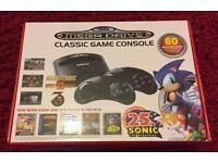 Sega mega drive with 80 built in games.